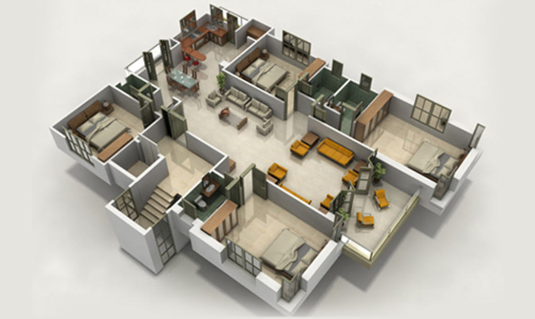 3D Architectural Scaled Models